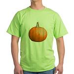 Pumpkin for Halloween Green T-Shirt