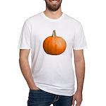 Pumpkin for Halloween Fitted T-Shirt