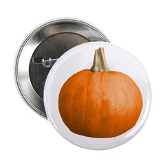 "Pumpkin for Halloween 2.25"" Button"