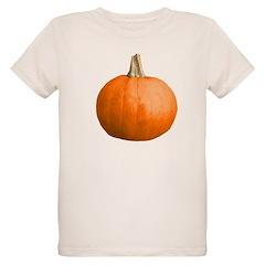 Pumpkin for Halloween Organic Kids T-Shirt