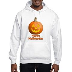Happy Halloween Pumpkin Jack- Hooded Sweatshirt