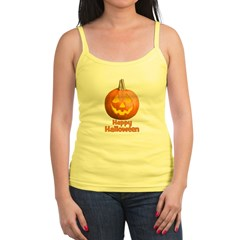 Happy Halloween Pumpkin Jack- Jr.Spaghetti Strap