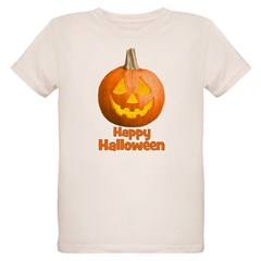 Happy Halloween Pumpkin Jack- Organic Kids T-Shirt