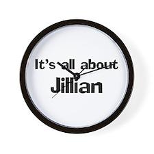 It's all about Jillian Wall Clock
