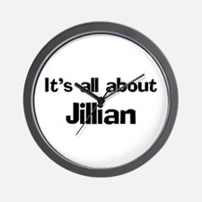 It's all about Jillian Wall Clock