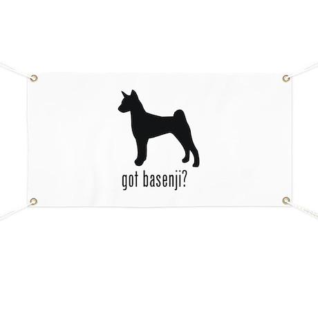 Basenji Banner