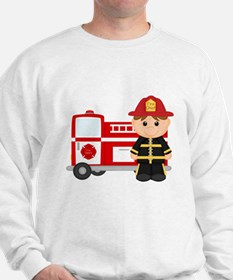 Cute Fire truck Sweatshirt