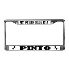 My Other Ride is A Pinto License Plate Frame