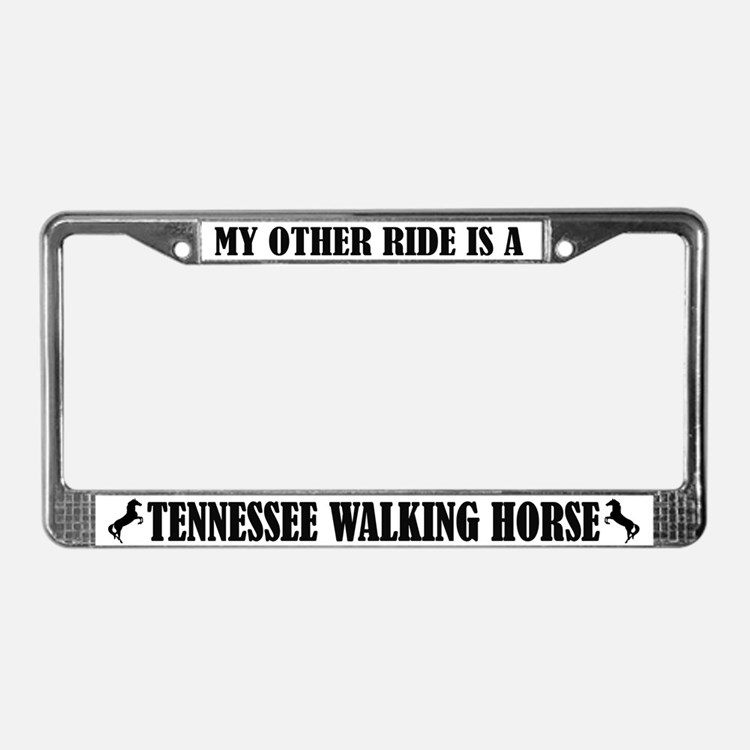 Tennessee Walking Horse Licence Plate Frames Tennessee