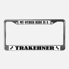 My Other Ride is a Trakehner License Plate Frame