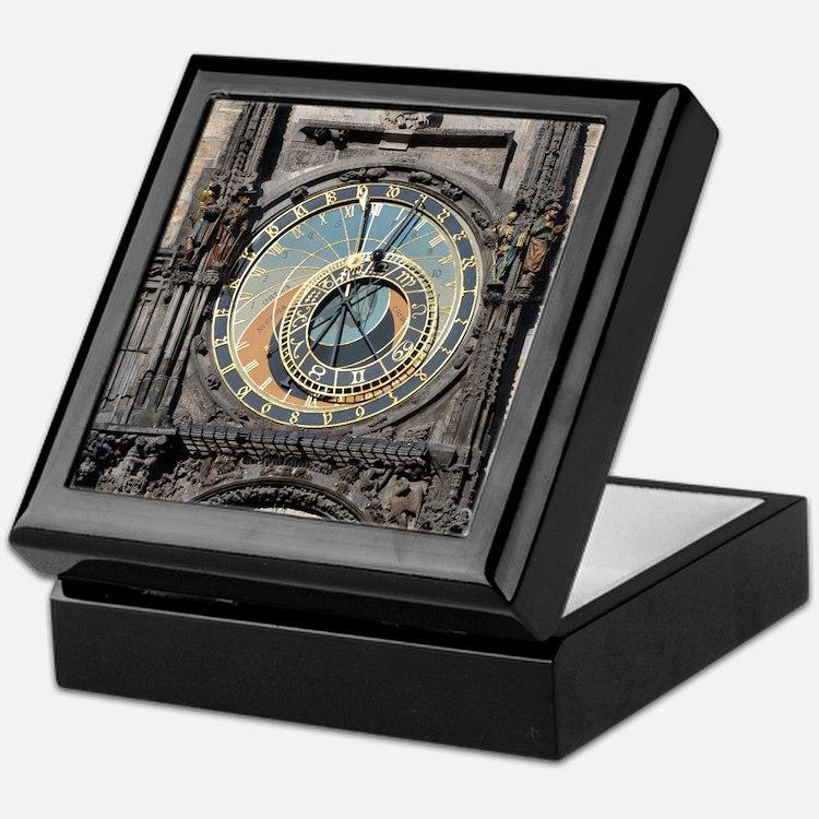 Astronomical Clock Keepsake Box