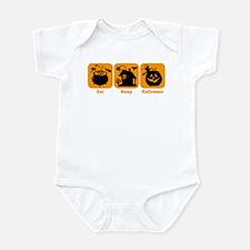 Eat Sleep Halloween Infant Bodysuit