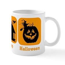 Eat Sleep Halloween Mug