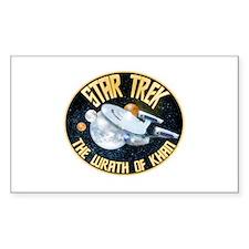 Star Trek Khan Decal