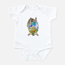 Cute Angel fish Infant Bodysuit