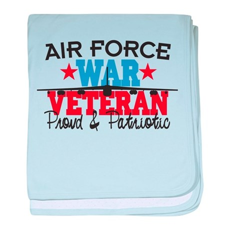 Air Force War Veteran Infant Blanket