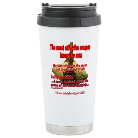 Effective Weapon Stainless Steel Travel Mug