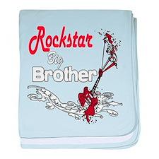 Rockstar Big Brother Infant Blanket