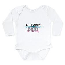 Air Force Baby Long Sleeve Infant Bodysuit