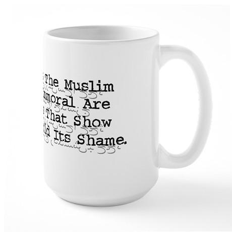 Mohammed Cartoon Large 15oz Mug