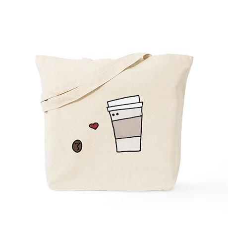 Coffee Bean Loves Coffee Tote Bag