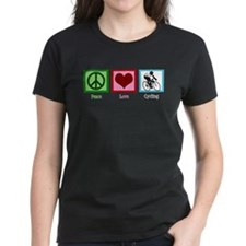 Peace Love Cycling Tee