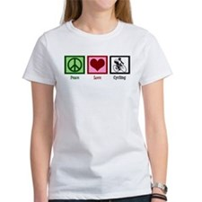 Peace Love Cycling Tee