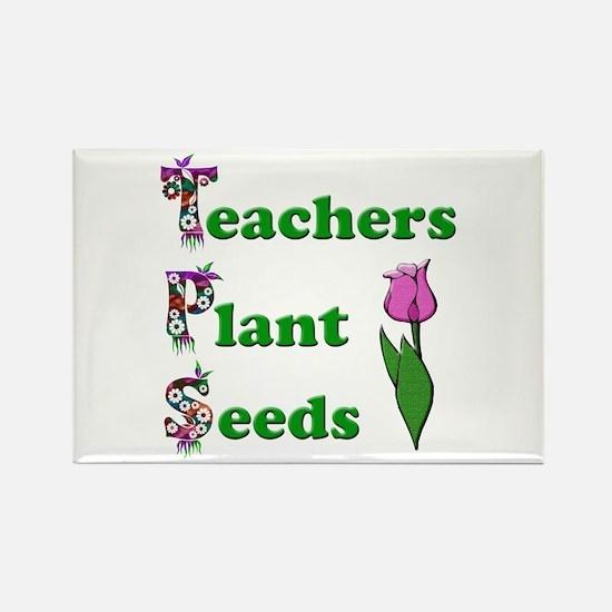 Unique Preschool teacher Rectangle Magnet (100 pack)