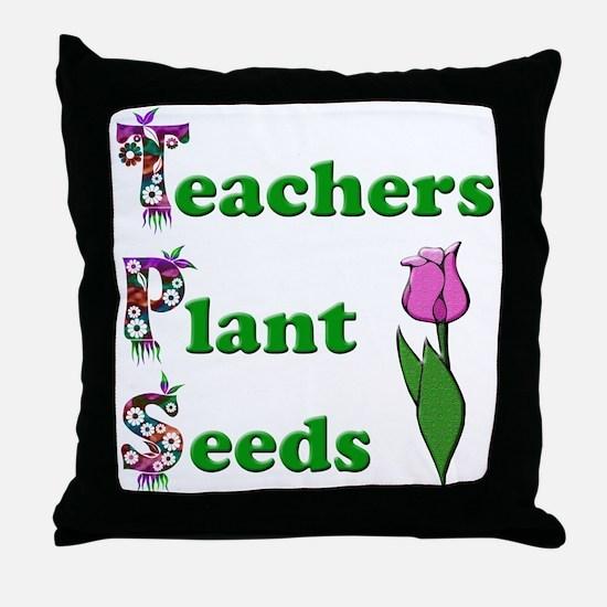 Unique Preschool teacher Throw Pillow