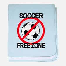 Soccer Free Zone Infant Blanket
