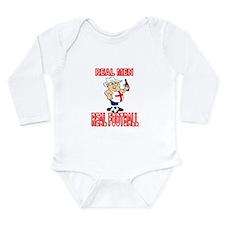 Cool Three lions Long Sleeve Infant Bodysuit
