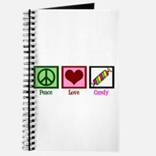 Peace Love Candy Journal