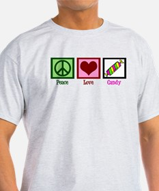 Peace Love Candy T-Shirt