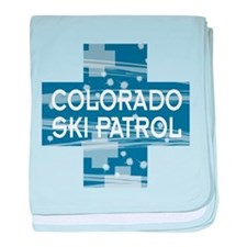 Colorado Ski Patrol Infant Blanket