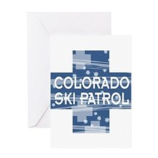Colorado Ski Patrol Greeting Card