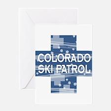 Colorado Ski Patrol Greeting Card
