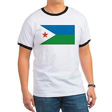 Djibouti Flag T
