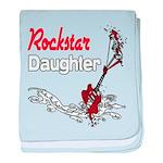 Rockstar Daughter Infant Blanket