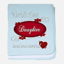 Cherished Daughter Infant Blanket