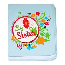 Wonderful Big Sister Infant Blanket