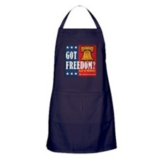 Got Freedom? Apron (dark)