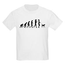 Girl Dog Walker T-Shirt