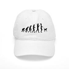 Girl Dog Walker Baseball Cap