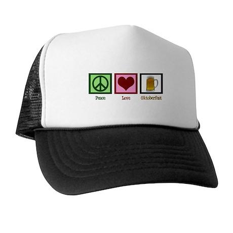 Peace Love Oktoberfest Trucker Hat