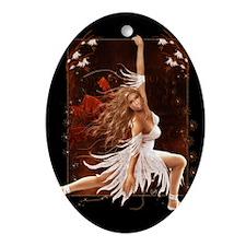 Julissa's Dance Oval Ornament