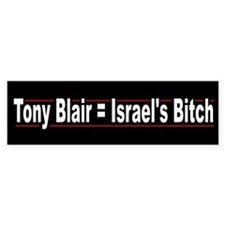 Tony Blair = Israels's Bitch