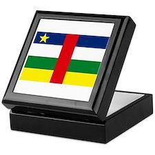 Central African Republic Keepsake Box
