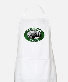 Rubicon Trail Green Oval Apron