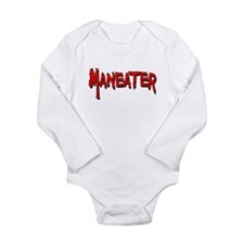 Maneater Long Sleeve Infant Bodysuit