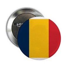 """Chad Flag 2.25"""" Button (10 pack)"""